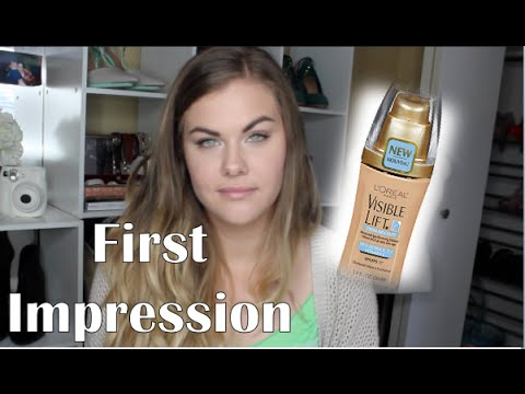 L'oreal Visible Lift Serum Absolute Foundation - First Impression |