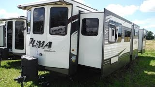 2016 Puma 39BHT 2 bedroom Park Model Trailer @ Camp-Out RV in Stratford