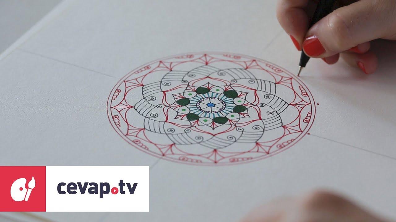 Mandala çizimi Nasıl Yapılır Youtube