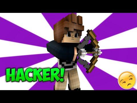 HACKER VOLANDO! - Skywars Minecraft