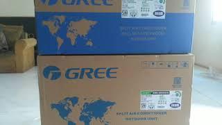 AC GREE 1 PK seri GWC09C3 seri lama & Pipa 3m & Vakum & Braket & Kabel & Teknisi
