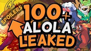 100 NEW POKEMON LEAKED?! - MAJOR Pokémon Sun and Moon news