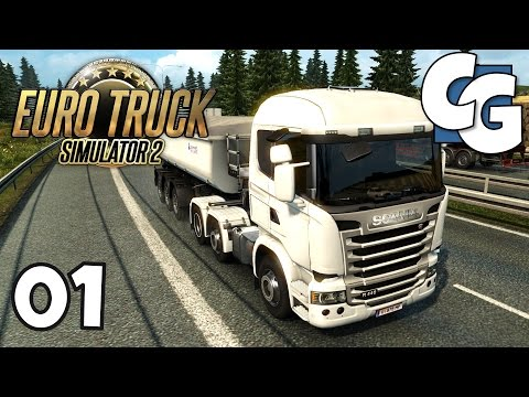 Euro Truck Simulator 2 - Ep. 1 - Starting out in Luxembourg