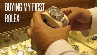 Buying My First Rolex (Vlog #152)