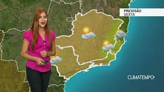 Previsão Sudeste -  Tempo firme predomina