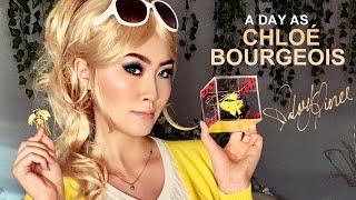 A DAY AS CHLOÉ BOURGEOIS Miraculous Ladybug Cosplay  Valory Pierce