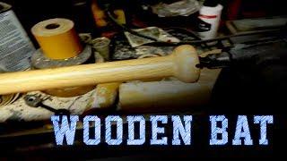 Wood Working Projects: Wooden Baseball Bat From An Oak Tree