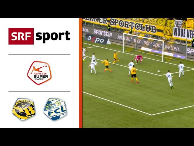 Young Boys - FC Luzern 4:0 | Highlights - Super League 2018/19 - Runde 36
