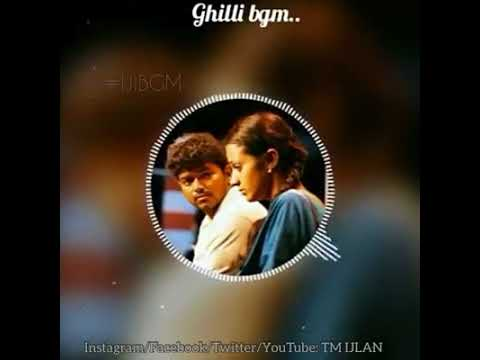 Kadhala Kadhala BGM Gilli Vijay Thrisha Cute&Lovely BGM's Tamil WhatsApp Status