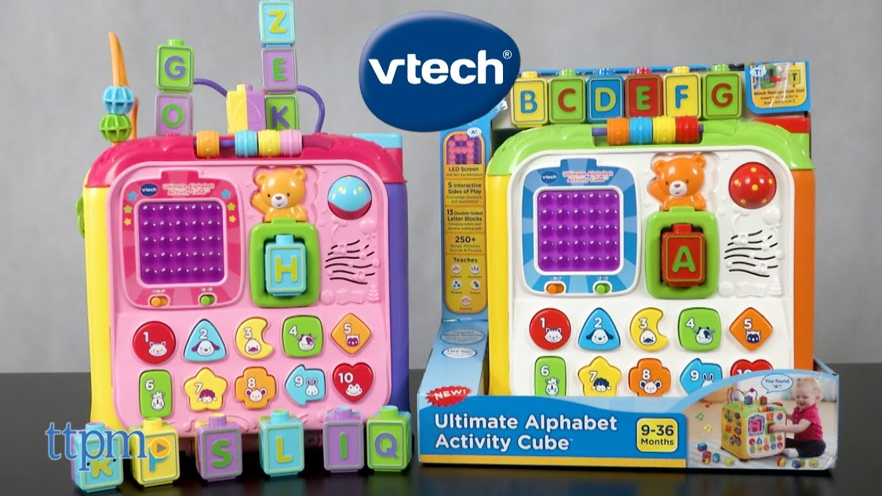 Ultimate Alphabet Activity Cube From Vtech Youtube