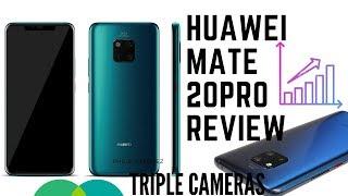 Huawei Mate 20 Pro -Review Triple Cameras 40MP+20MP+8MP , AI & More
