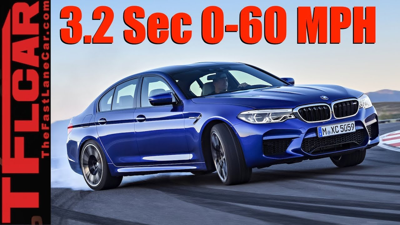 Quickest M5 Ever 2018 Bmw Awd