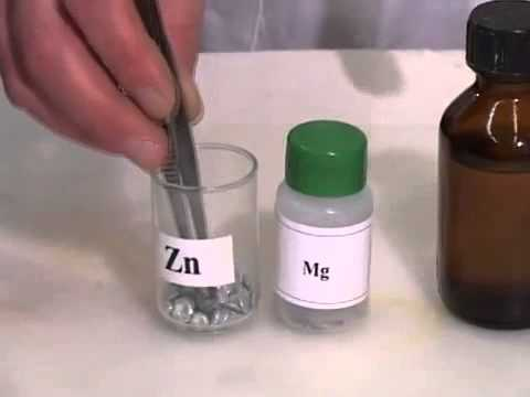 Organic Chemistry. Acetic Acid Interaction With Metals.
