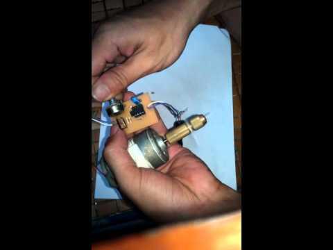 Điều khiển tốc độ động cơ DC (PWM) dùng IC 555