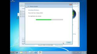 Windows 7 Tutorial - Activate Windows 7 With Product Key