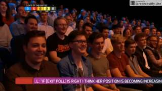 David Mitchell rants about Theresa May and Brexit on General Election night 2017