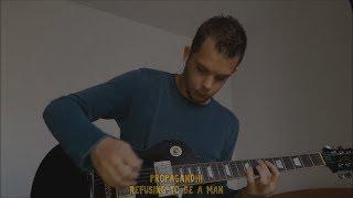 refusing to be a man (propagandhi guitar cover)