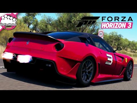 FORZA HORIZON 3 #101 - Ferrari 599XX auf öffentlichen Straßen - Let's Play Forza Horizon 3