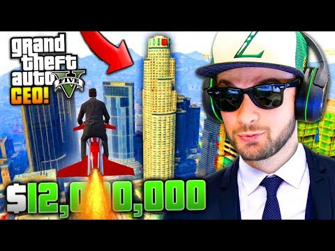 "BECOMING A ""CEO""... ($12,000,000 SPENDING SPREE)! - GTA 5 Online w/ Ali-A"