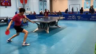 Baixar Westchester Table Tennis Center May 2019 Open Singles Semi-Finals #2  - Jian Li vs Kazeem Makanjuola