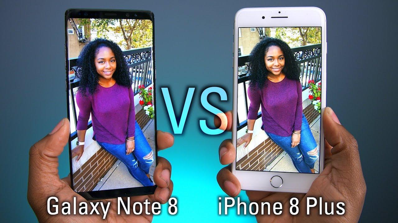 IPhone 8 Plus VS Galaxy Note Camera Test