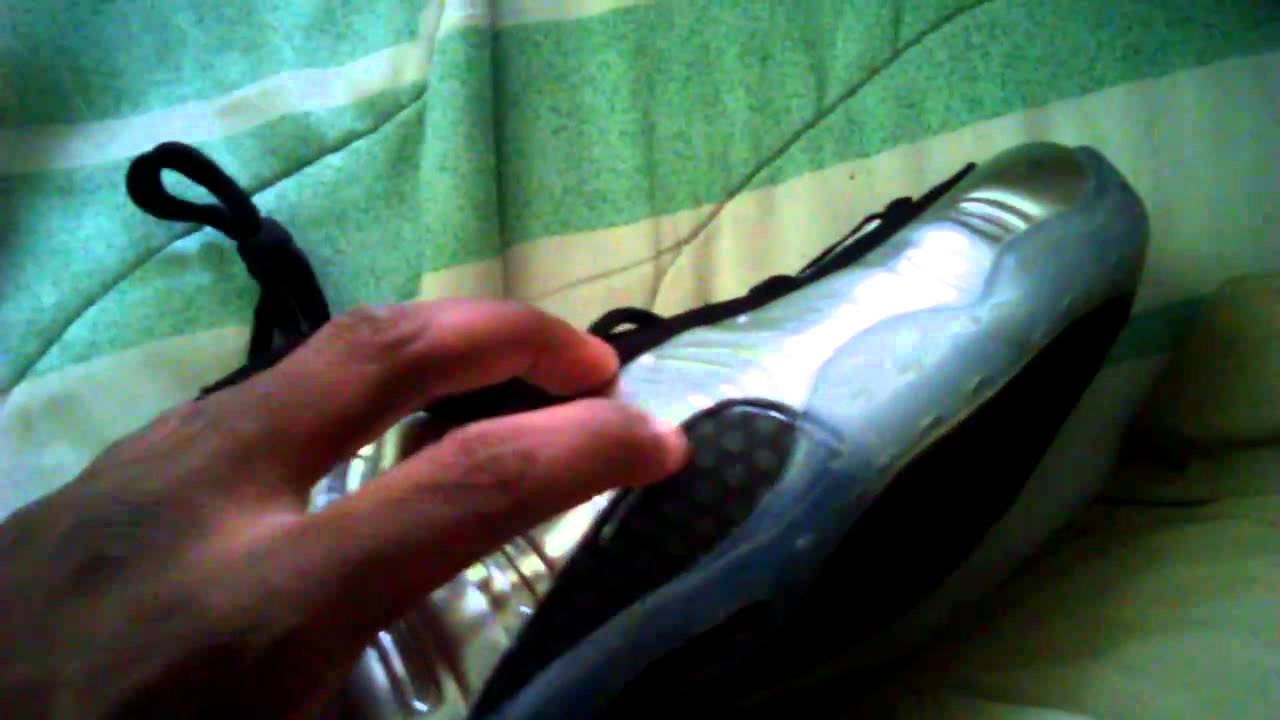 ceca9824408 Aliexpress Nike foamposite 1 mirror unboxing - YouTube