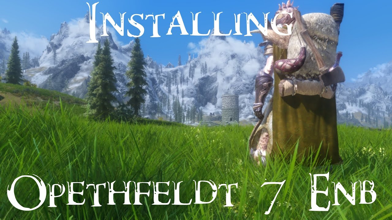 skyrim how to clean install
