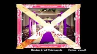 Wedding Mandap Decorators by A1 Weddingwalla A1wwMD06
