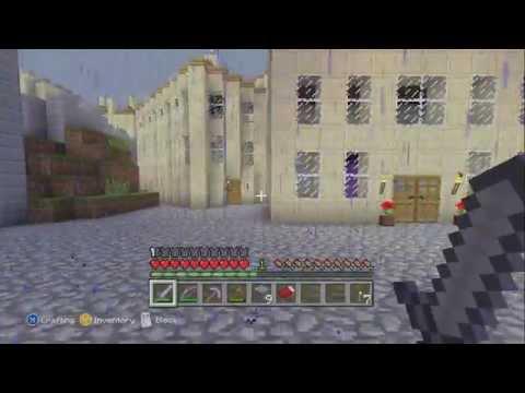 LukesterGaming Twitch Livestream Test! - Minecraft Xbox 360 Edition (Part 2/4)