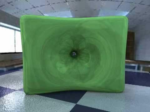 Particle-based viscoplastic fluid/solid simulation