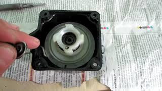 Как быстро отремонтировать стартер мотокосы,триммера бензокосы.  Вечный стартер  после ремонта.