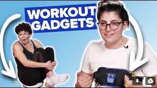 Women Try Workout Gadgets