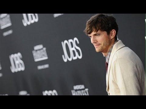 Ashton kutcher steve jobs side by side