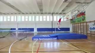 Классные трюки на баскетбольной площадке