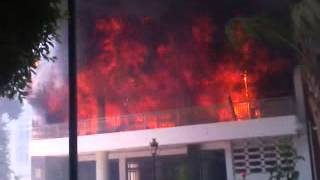 حريق محافظة بني سويف 14 - 8 - 2013 (2)