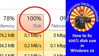 How to fix 100% disk use in Windows 10 - Quick TIPS
