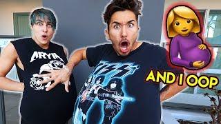 2 Guys Try Pregnancy Bellies