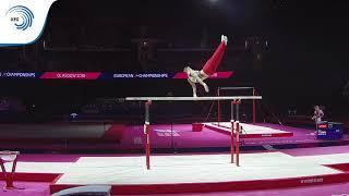 Lucas KOCHAN (GER) - 2018 Artistic Gymnastics Europeans, junior parallel bars final
