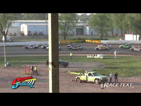 Seymour Speedway - June 15, 2014 - IMCA Stock Car Feature