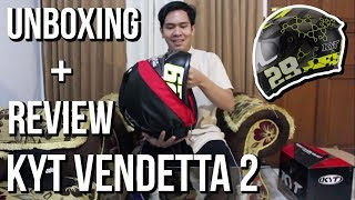 Unboxing + Review Helm KYT Vendetta 2 Andrea Iannone Bahasa Indonesia