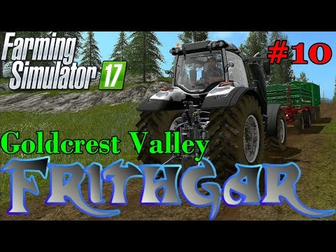 Let's Play Farming Simulator 2017, Goldcrest Valley #10: Valtra Cow Edition!