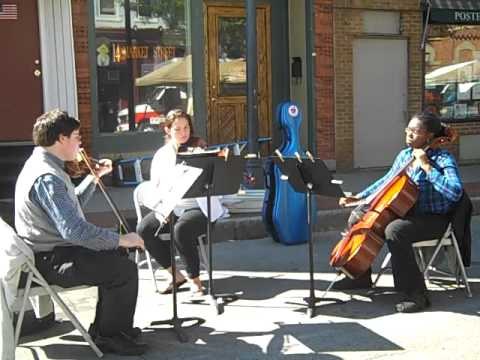 The College at Brockport Alma Mater / Weldon / arr. Allentoff / Brockport String Trio
