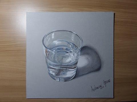 Disegnare Un Bicchiere Dacqua Youtube
