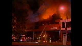 MFB - Alstom Warehouse Fire in Heidelberg (1999)