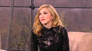 """Web Exclusive: Madonna's Advice: """"Put Your Boxing Gloves On'"""