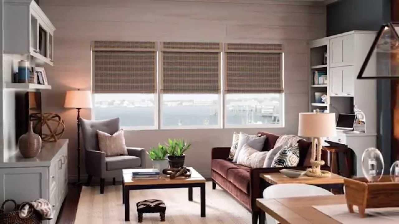bali blinds how to install cordless natural shades inside mount youtube. Black Bedroom Furniture Sets. Home Design Ideas