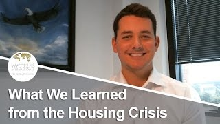 Greater Austin Real Estate Agent: What We Learned from the Housing Crisis