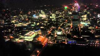 London by night@The view from the shard