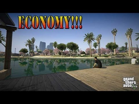 GTA 5: Talk Show!! Ep:8 Economy System!!! w/ commentary (chat)