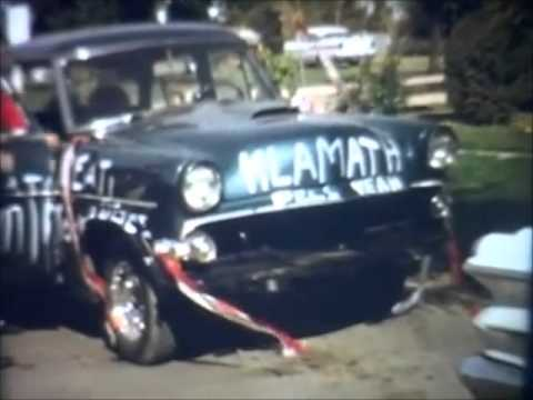 Hooper Home Movies Klamath Union High School Homecoming Parade and Cars